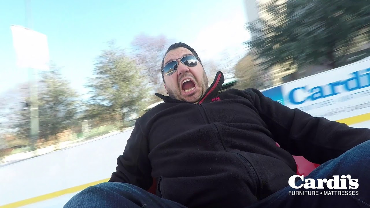 Bumper Cars On Ice Providence Ri Youtube