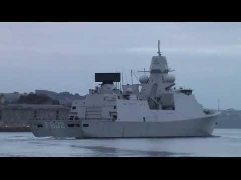 HNLMS De Zeven Provicien F802 @ Plymouth 25.11.13