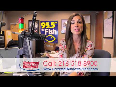 Sara Carnes 95.5 The Fish Describes Best Home Improvement Company in Cleveland, OH