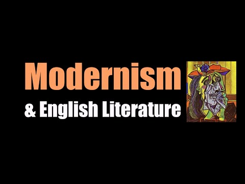Modernism & English Literature