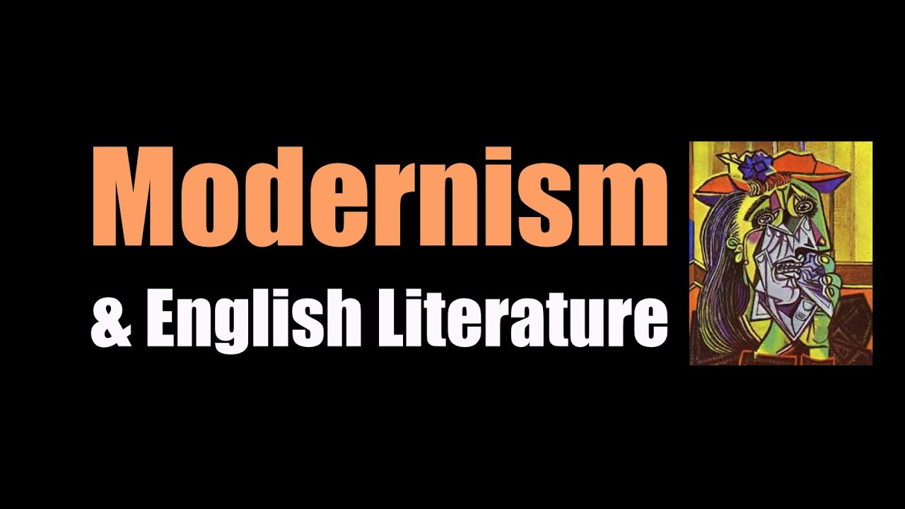modernism english literature