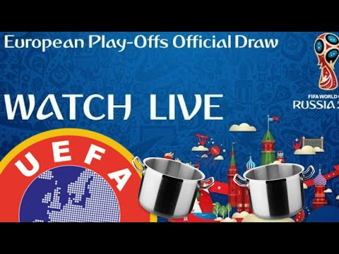 FIFA World Cup 2018 European Playoff Official Draw Reaction