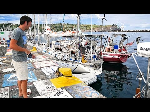 AZORES: We LOVE This Harbor - We HATE Rafting Up (MJ Sailing - EP 81)