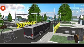 Public Transport Simulator #40 Update New Bus! Android Ios Gameplay