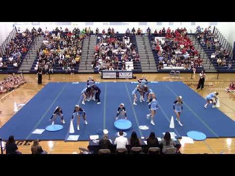 Page County High School at Harrisonburg Blue Streak Cheerleading Invitational 2019
