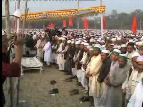 Funeral of Allama FULTALI rah. With beautiful Nasheed