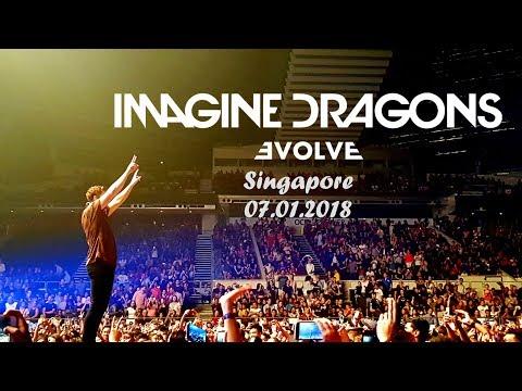 Cover Lagu Imagine Dragons: Evolve Tour // SINGAPORE 07.01.2018 STAFABAND
