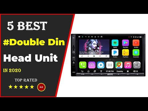 ✅ Top 5: Best Double Din Head Unit 2020  [Tested & Reviewed]