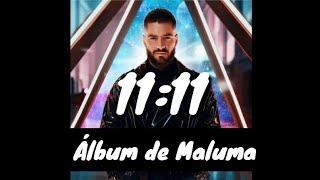 1111 lbum de Maluma. Fecha y Canciones