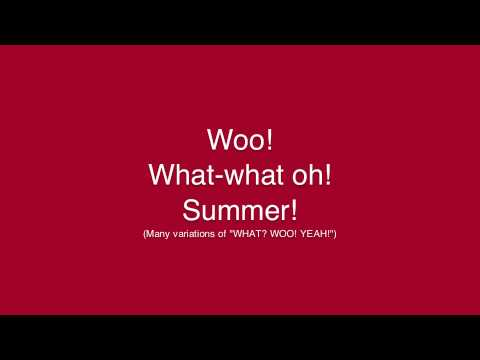 Days of Summer AVPS with Lyrics