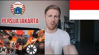 "Lagu Persija Jakarta - ""Syalalala lalala lala"" // INDONESIAN FOOTBALL FANS REACTION"