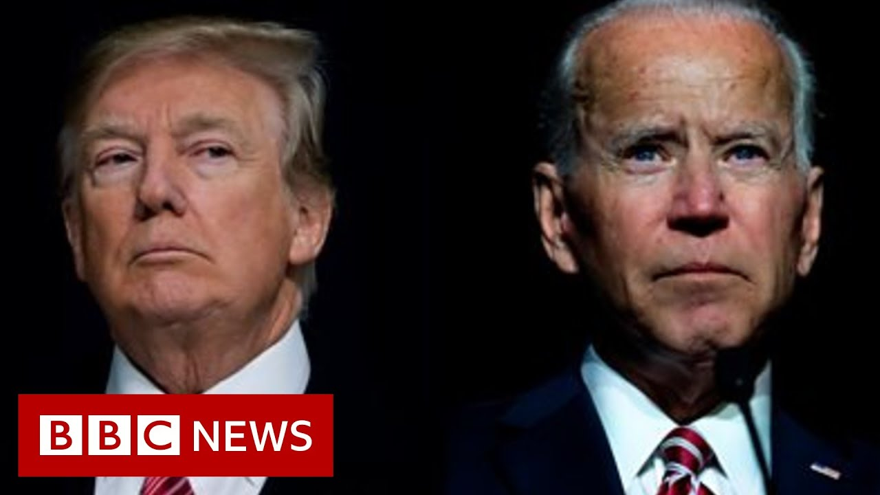 Download Trump and Biden: What to watch for in first presidential debate - BBC News
