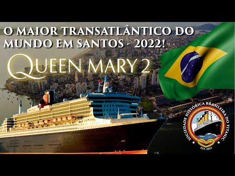 O MAIOR TRANSATLÂNTICO DO MUNDO ESTARÁ EM SANTOS EM 2022 - QUEEN MARY 2! from YouTube · Duration:  6 minutes 44 seconds