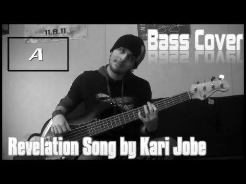 Revelation Song - Kari Jobe (BASS COVER | ON SCREEN NOTES) by Trevor Beecher