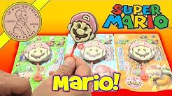 Super Mario Brothers Chocolate Lollipops- Mario, Luigi & Bowser