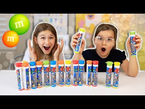 Don't Choose The Wrong MINI M&M's Slime Challenge!!   JKrew