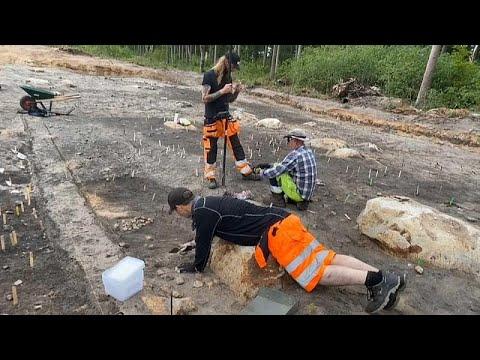 """""""absolut-einzigartig"""":-archäologen-finden-gut-erhaltenes-steinzeitdorf-in-schweden"""
