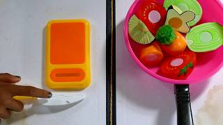 Play kitchen accessories | kids play kitchen | Kid play how to cook fruit vegetables, Kids video