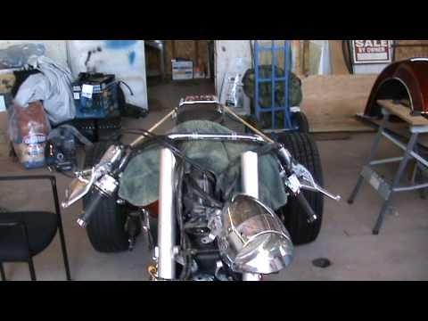 2002 Honda VTX 1800 conversion front end kit part #1 8 degree rake