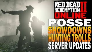 Server Updates - Showdowns, Hunting Trolls, And Free Roam! Red Dead Redemption 2 Online [RDR2]