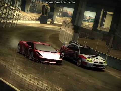Need For Speed Most Wanted: Impreza & Gallardo Vinyl Mod