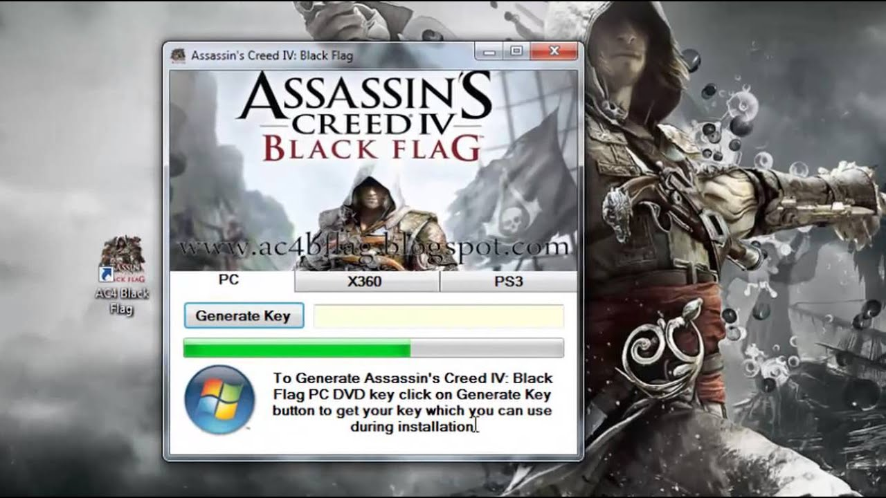 activation code for assassins creed 4 black flag uplay