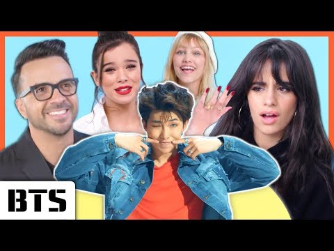 "CELEBRITIES REACT TO BTS (방탄소년단) ""FAKE LOVE"""