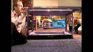 "Pet Gear ""the Other Door"" Steel Crates With Sliding Door - Reviewed Live At Global Pet Show"