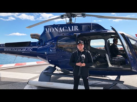 HELICOPTER OVER MONACO