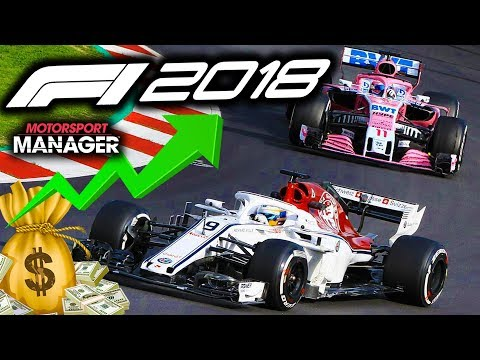 OVERTAKING FERRARI'S & MERCS! - F1 2018 Alfa Romeo Manager Career Part 27