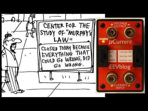 EEVblog #1057 -  µCurrent Murphy