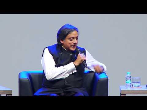 The Hindu Lit for Life Dialogue 2018: Shashi Tharoor in conversation with Gopal Krishna Gandhi