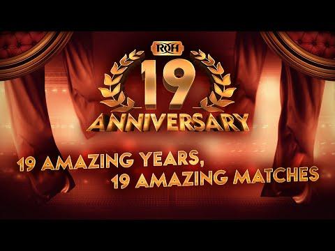 19 Amazing Years, 19 Amazing Matches!