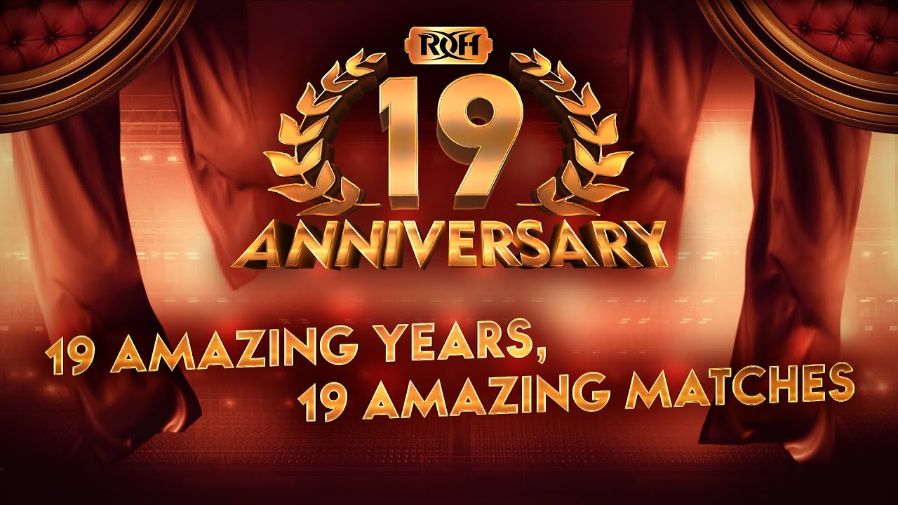 Watch ROH 19th Anniversary 3/26/21