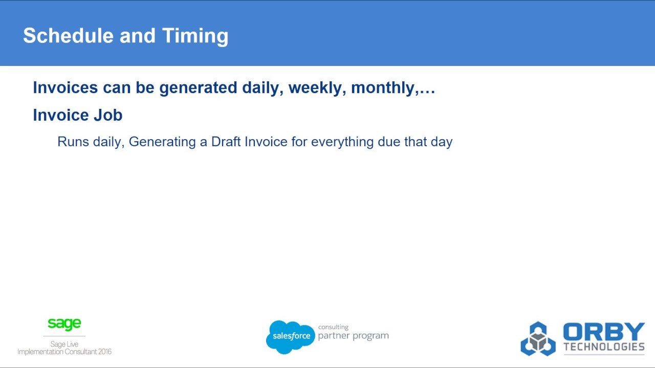Case Study Sage Live Invoicing From Salesforce YouTube - Salesforce invoicing app