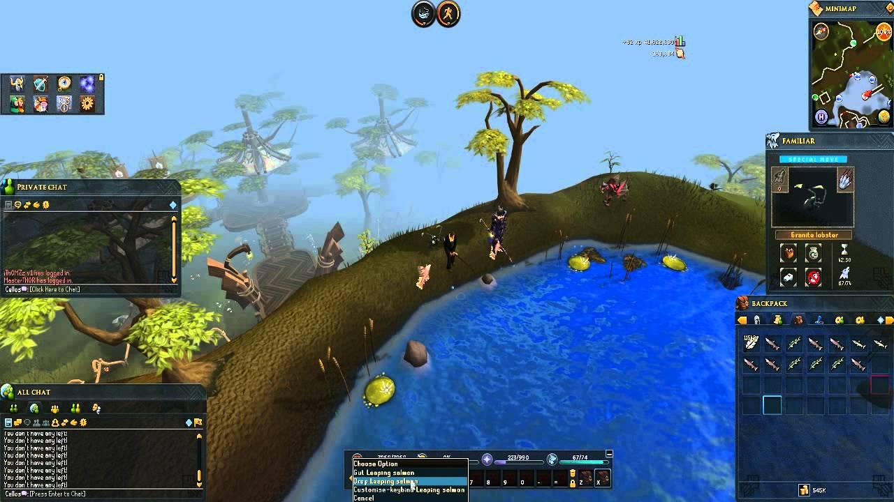 Barbarian fishing rs3