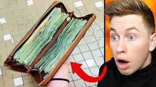 Sie kaufte ein Portemonnaie für 30 € auf dem Flohmarkt - Als sie es öffnete, sah sie es...
