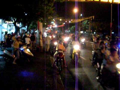 Crazy Vietnam Traffic in Bien Hoa City