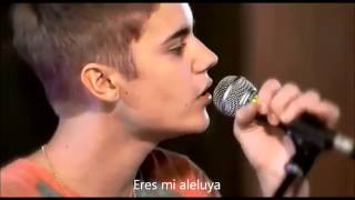 Justin Bieber - As long as you love me LIVE subtitulado en español