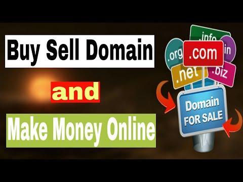 Buy Sell 😀 Domain Name & Make💲Money Online 2019 In Bangla Tutorial