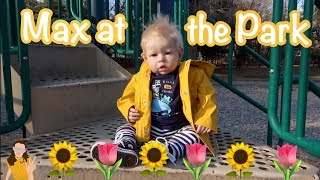 Reborn Toddler Max Goes to the Park for First Day of Spring!   Kelli Maple