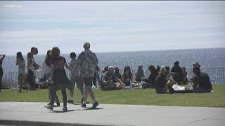 City of San Diego prohibits all gatherings at beaches, parks as crowds ignore coronavirus stay at ho