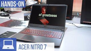 Acer Nitro 7 Hands-On: Gaming-Notebook mit 144-Hz-Bildschirm