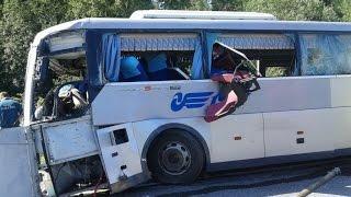 Bus Crashes, Tram Crashes, Trolleybus Crashes compilation 2015 Part 5