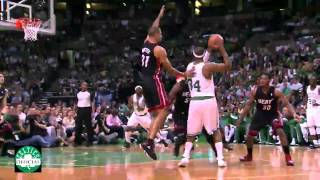 Marquis Daniels Highlights vs.Miami Heat - 9 points - Game 3 Playoffs 2012 PART 2 [HD]