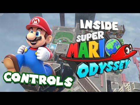 Inside Super Mario Odyssey - Controls