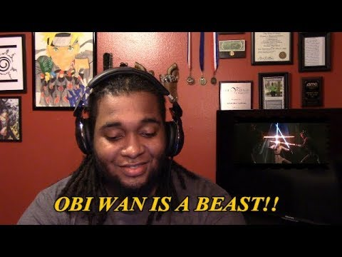 ~REACTION~ Obi-Wan and Adi Gallia VS Darth Maul and Savage Opress-Hondo & Kenobi Vs Maul and Savage