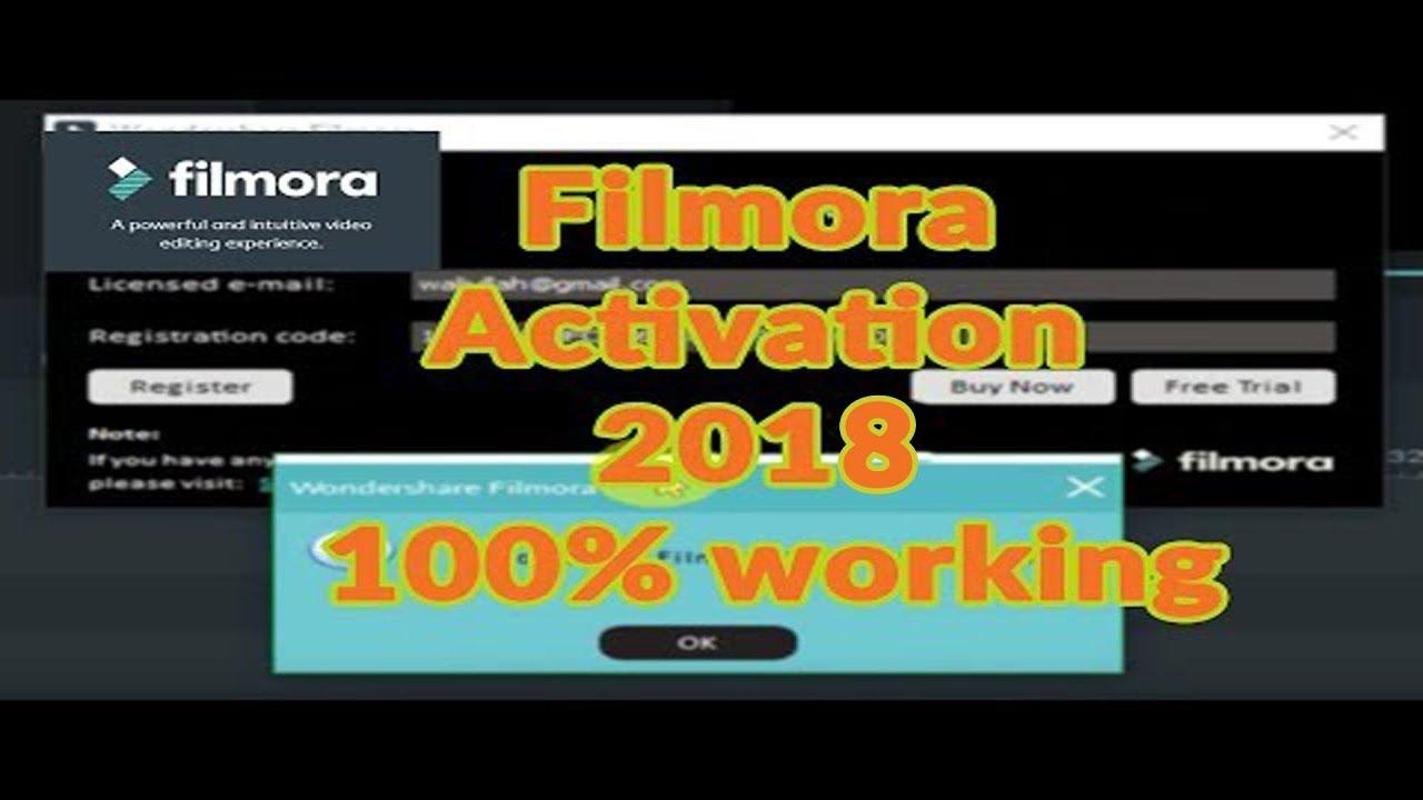 filmora wondershare registration code