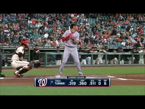 July 28, 2016-Washington Nationals vs. San Francisco Giants