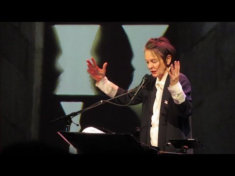 Laurie Anderson THE LANGUAGE OF THE FUTURE / HKW, Berlin / 05 March 2017